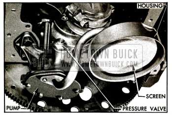 1955 Buick Oil Pump and Screen