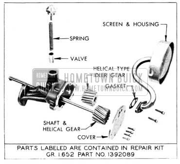 1955 Buick Oil Pump Gear Change