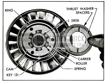 1955 Buick Parts in Rear Side of Stator
