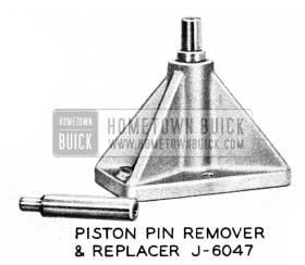 1955 Buick Piston Pin Remover