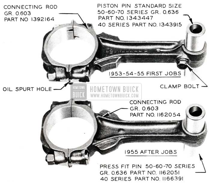 1955 Buick Piston Pin