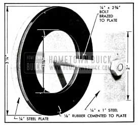 1955 Buick Plate and Washer for Pump Test