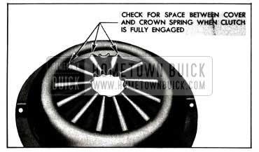 1955 Buick Points to Check Contact of Clutch Spring with Cover