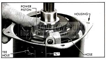 1955 Buick Position of Piston in Housing