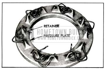 1955 Buick Positioning Spring Retainer