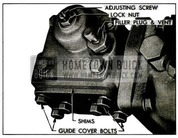 1955 Buick Power Steering Gear Adjustments