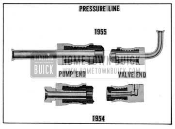 1955 Buick Power Steering Pressure Hose
