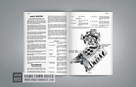 1955 Buick Product Service Bulletins AE - 03
