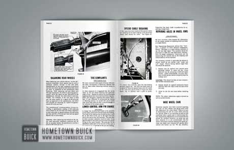 1955 Buick Product Service Bulletins AE - 04