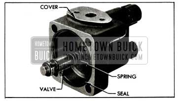 1955 Buick Pump Cover and Control Valve