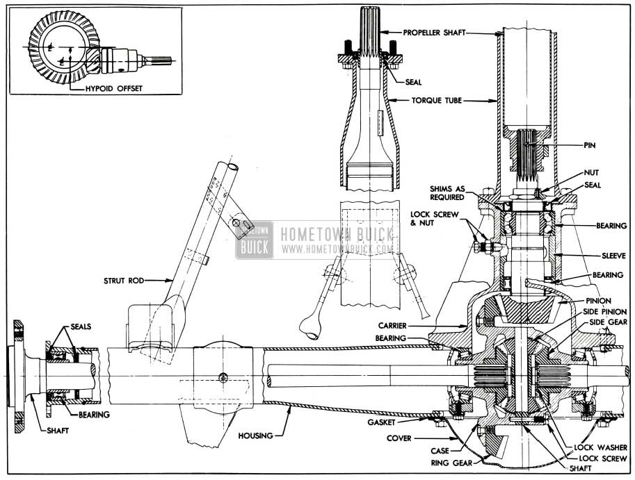 ford front end suspension diagram