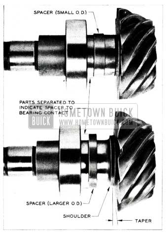 1955 Buick Rear Axle Spacer