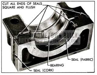 1955 Buick Rear Bearing Oil Seals