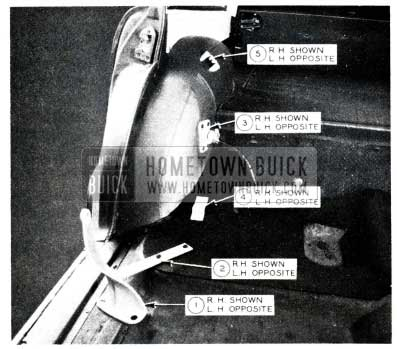 1955 Buick Rear Seat Conversion