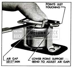 1955 Buick Relay Air Gap Adjustment