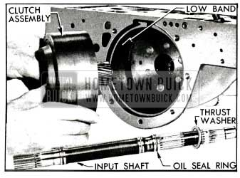 1955 Buick Removal of Clutch Assembly