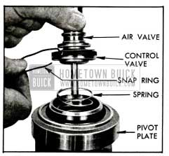 1955 Buick Removing Air Valve with Control Valve