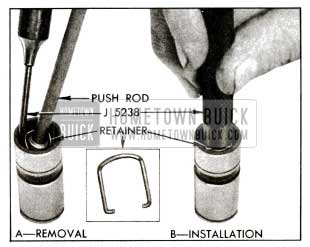 1955 Buick Removing and Installing Plunger Retainer