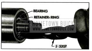 1955 Buick Removing Bearing Retaining Ring
