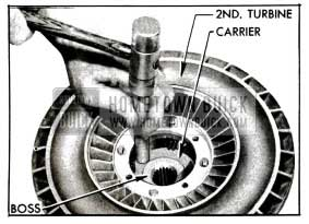 1955 Buick Removing Carrier from Turbine