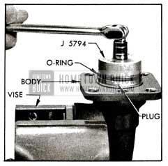 1955 Buick Removing Cylinder Plug
