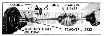 1955 Buick Removing Input Shaft Bearing