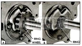 1955 Buick Removing Ratchet Wheel Retaining Ring