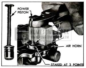 1955 Buick Removing Vacuum Power Piston