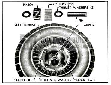 1955 Buick Second Turbine Parts