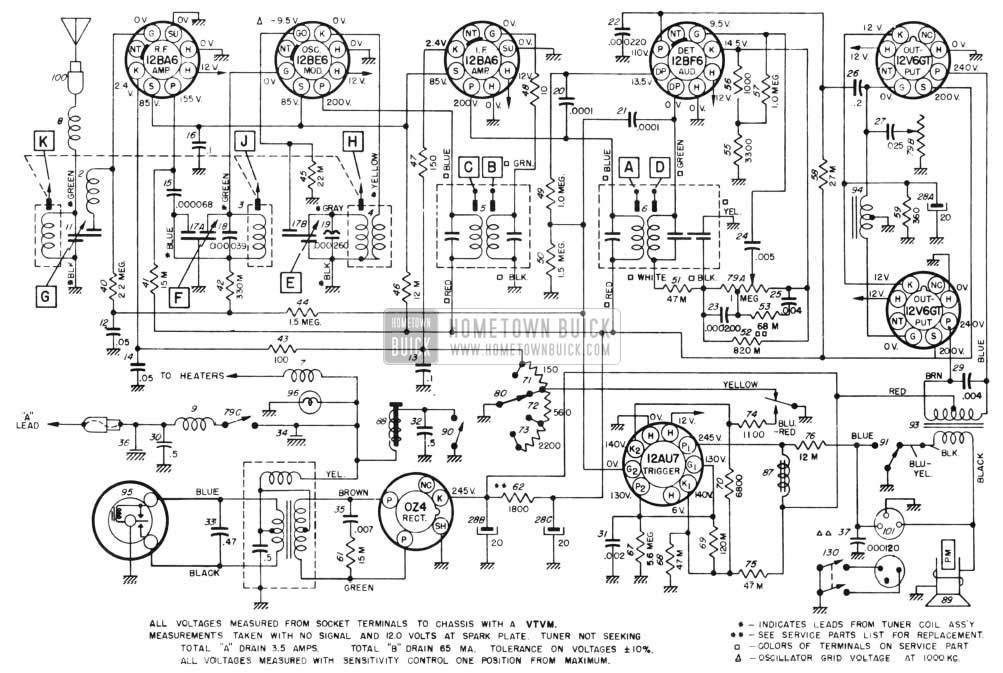1955 buick wiring diagram    1955       buick    electrical systems maintenance     1955       buick    electrical systems maintenance