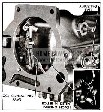 1955 Buick Shift Detent Adjustment