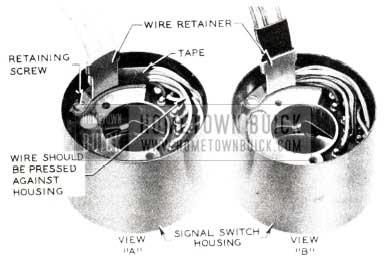 1955 Buick Signal Switch Housing