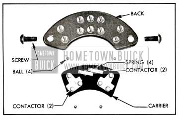 1955 Buick Signal Switch Parts