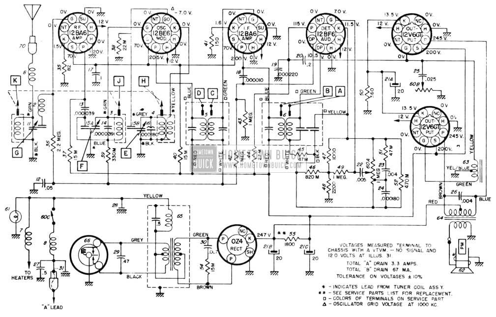 1955 buick electrical systems maintenance