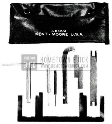 1955 Buick Special Carburetor Tools