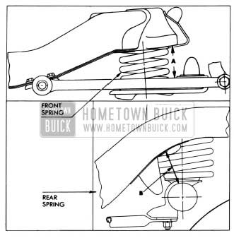 1955 Buick Spring Trim Dimensions