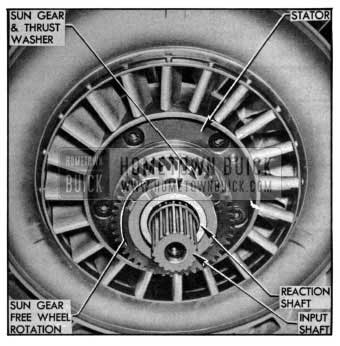1955 Buick Stator and Sun Gear