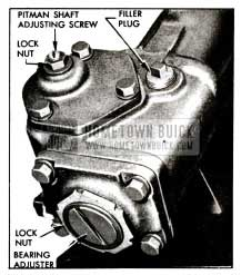1955 Buick Steering Gear Adjustments