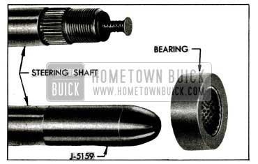 1955 Buick Steering Shaft, Bearing, and Bearing Protector
