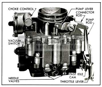 1955 Buick Stromberg AAVB Carburetor Assembly