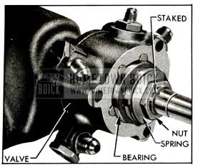 1955 Buick Thrust Bearing and Nut
