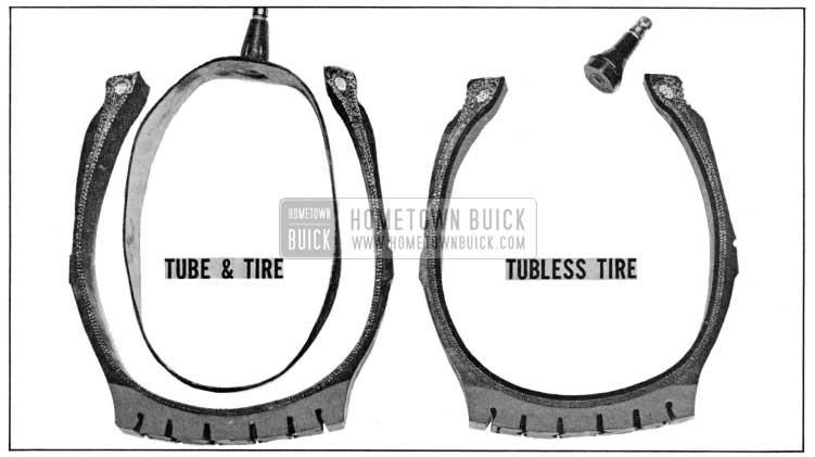 1955 Buick Tire Comparison