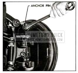 1955 Buick Using Anchor Pin Nut Wrench J 854