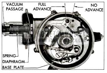1955 Buick Vacuum Advance Mechanism