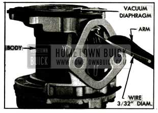 1955 Buick Vacuum Diaphragm Flexing Tool In Place