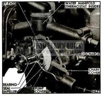 1955 Buick Water Pump Installation