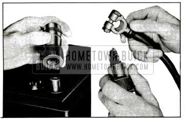1955 Buick Wire Brushes for Cleaning Battery Posts and Terminals
