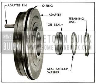 1956 Buick Adapter and Oil Seal Assembly