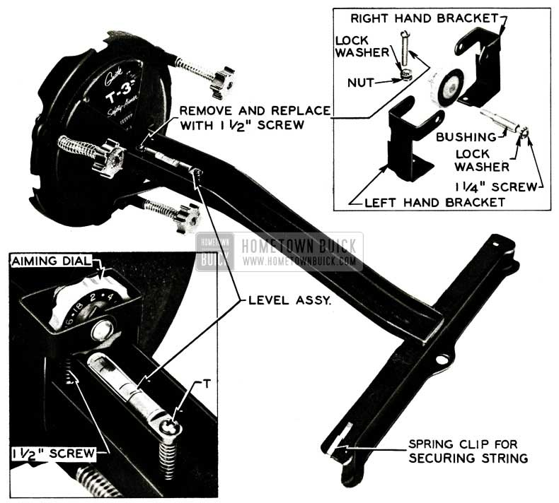 1956 Buick Aiming Dial Guide T -3 Safety-Aimer