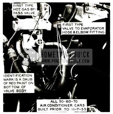 1956 Buick Air Conditioner Hot Gas by-pass Valve-First Type